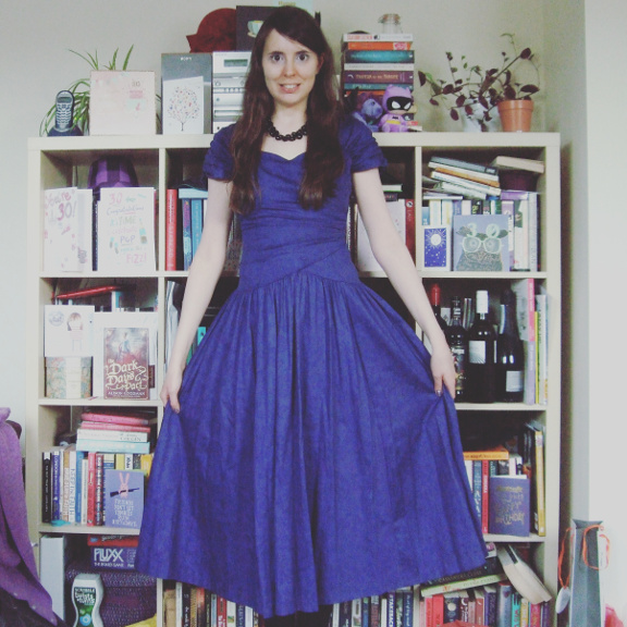 purple dress, purple laura ashley dress, vintage, vintage laura ashley, purple laura ashley
